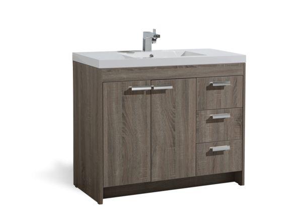 """Vanité 40"""" - Vanité 37-42 pouces - Vanités - Mobilier de salle de bain - Salles de bain - Produits - Bain Dépôt"""