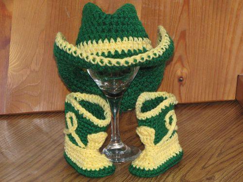 Deere Infant Hat Crochet Pattern :