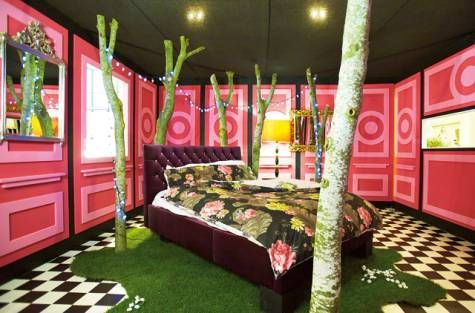 A Laurence Llewelyn-Bowen bedroom called 'My Lady's Chamber'
