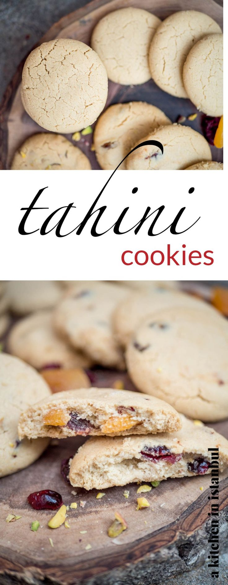 Tahini cookies – recipe / A kitchen in Istanbul