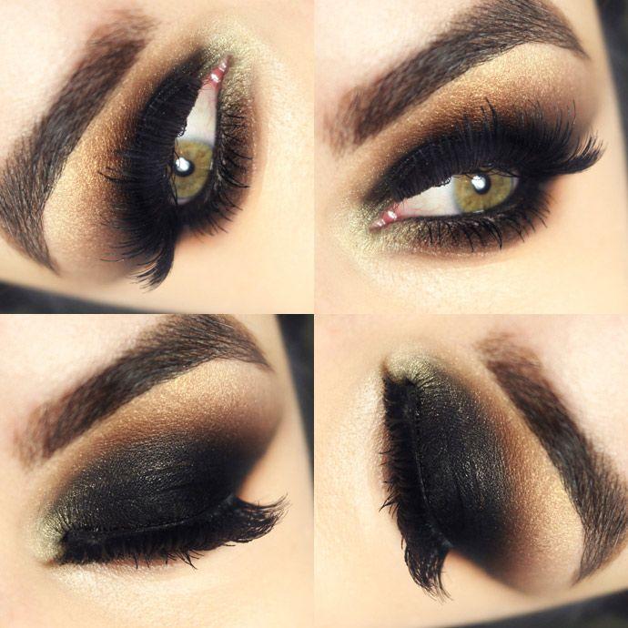 Os variados tipos de olho preto – diversos tutoriais e dicas!