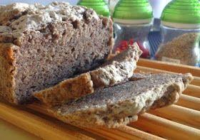 Pão sem glúten com sementes e fibra extra
