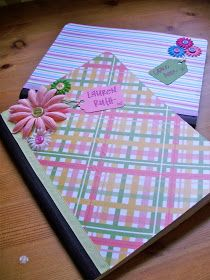 Here's to Handy Andy: Personalized Notebooks