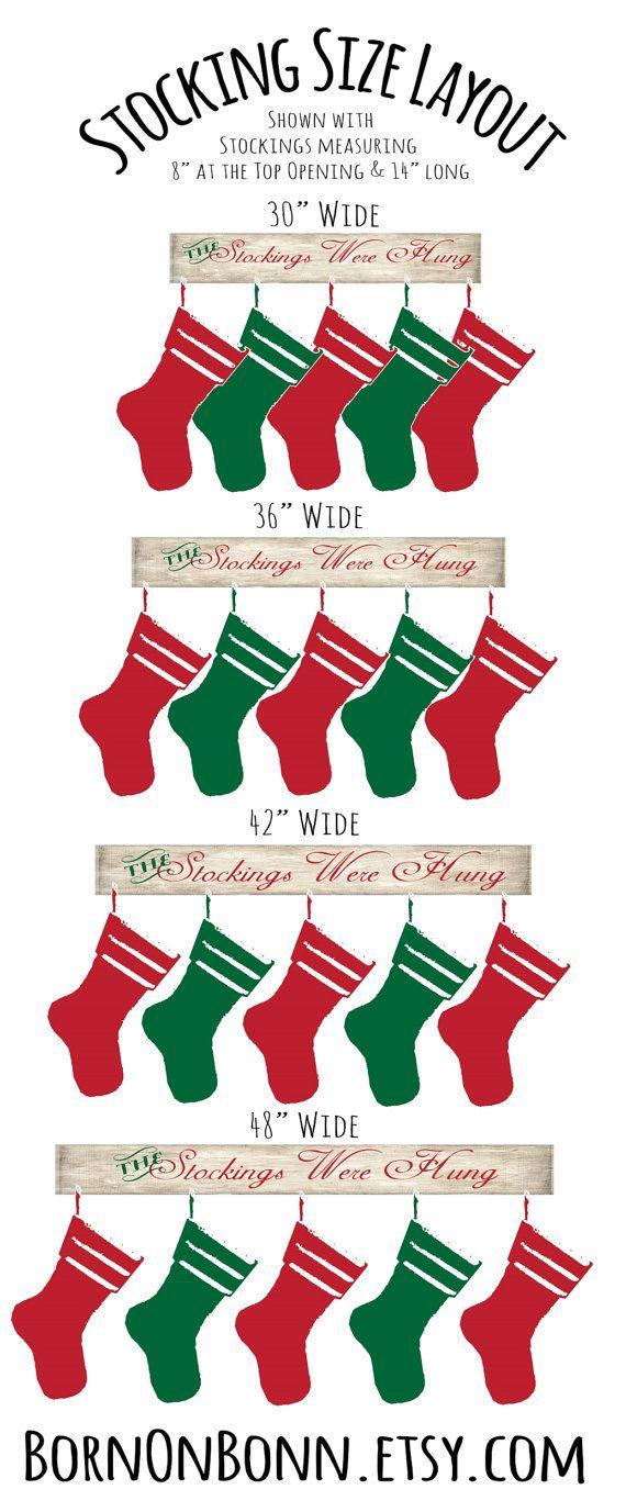Stocking Holder Christmas Stocking Holder by BornOnBonn on Etsy
