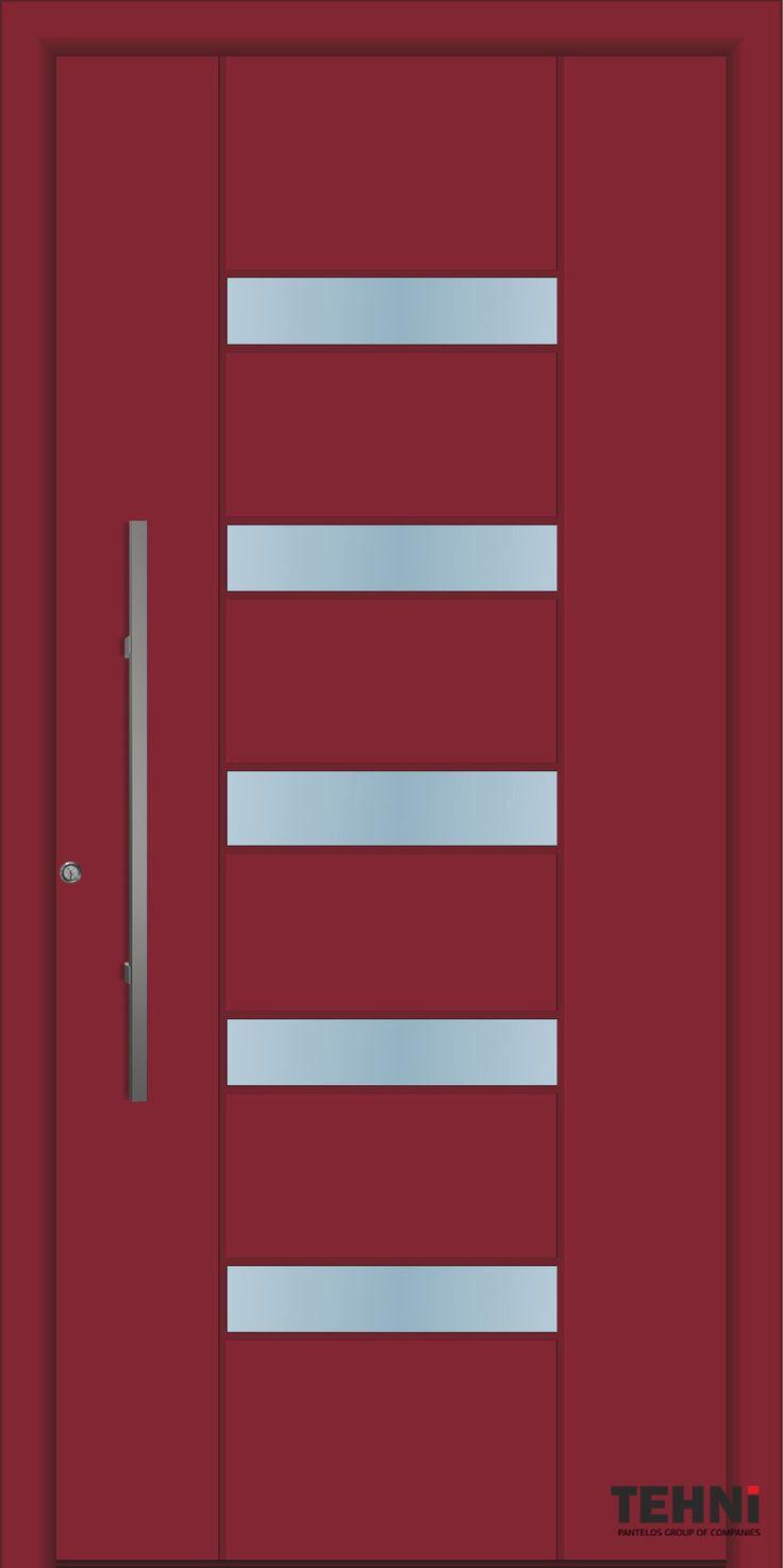 Amazing Beautiful Design Entrance Doors Tehni S.A. | Pantelos Group #tehni #pantelos #doors #door #interiordesign #designindustry #frontdoor #entrancedoor #entrance #designideas #designinterior #aluminumdoor