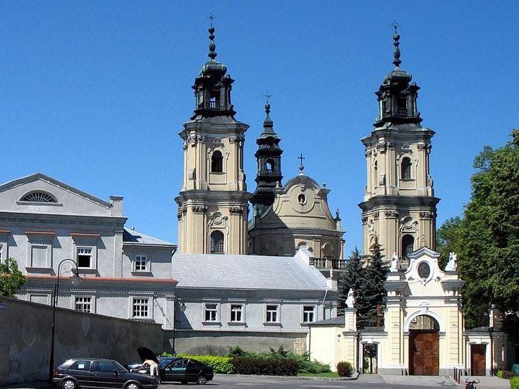 Dominikańskie sanktuarium Matki Bożej Bolesnej, Jarosław. #dominikanie #klasztor #jarosław