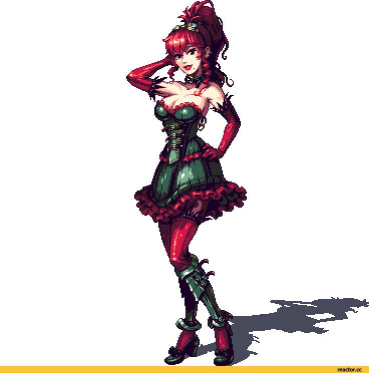 Pixel Art,Пиксель Арт, Пиксель-Арт,Creya,Steampunk,стимпанк, паропанк,Cyangmou