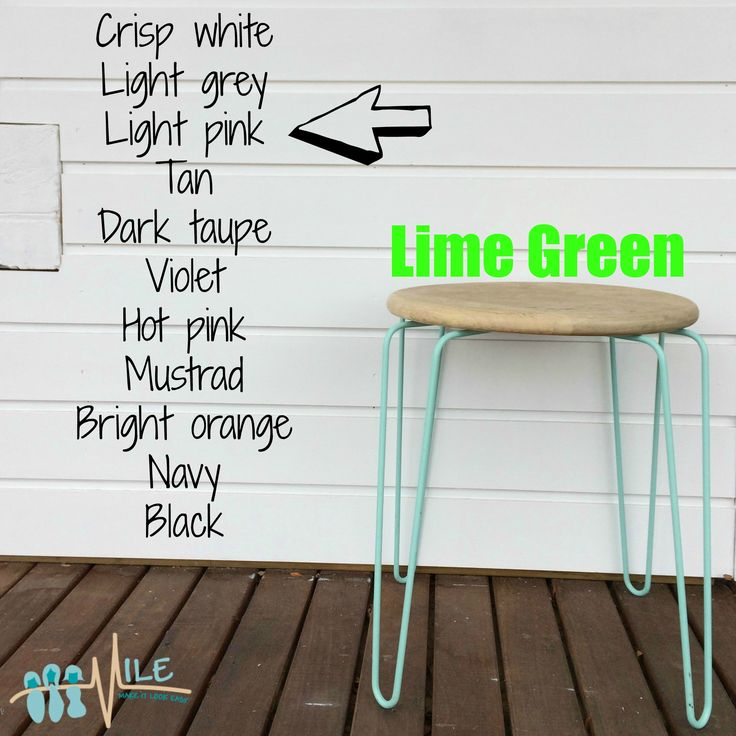 Lime green goes with...