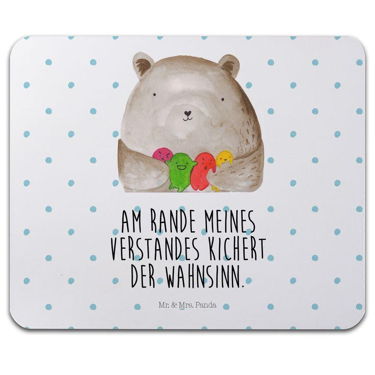 """Mauspad Druck Dankbär aus Naturkautschuk  black - Das Original von Mr. & Mrs. Panda.  Ein wunderschönes Mouse Pad der Marke Mr. & Mrs. Panda. Alle Motive werden liebevoll gestaltet und in unserer Manufaktur in Norddeutschland per Hand auf die Mouse Pads aufgebracht.    Über unser Motiv Dankbär  Unser dankbärer Blumenbär ist aus unserer """"Beary Times""""-Kollektion.    Verwendete Materialien  ##MATERIALS_DESCRIPTION##    Über Mr. & Mrs. Panda  Mr. & Mrs. Panda - das sind wir - ein junges Pärchen…"""