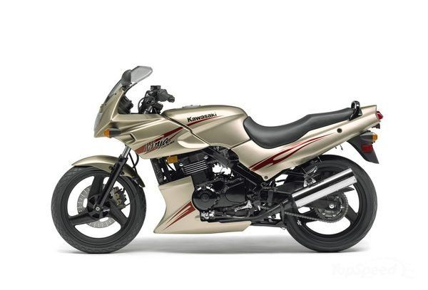 If my motorcycle looked brand new and I was the first owner :-) Kawasaki Ninja 500R