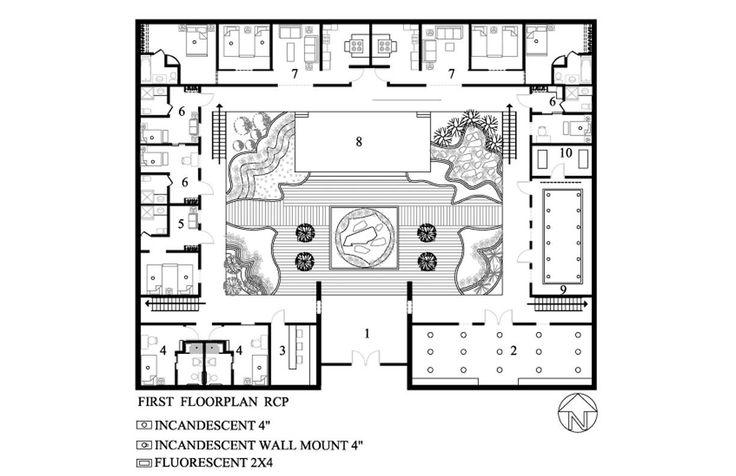 best 25 u shaped house plans ideas on pinterest 5