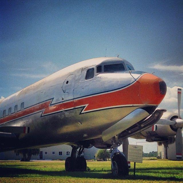 DC-7 #avgeek #florida #iphone5 #NewSmyrnaBeach #iphonesia #aviation #airplane #instaflorida #instapic