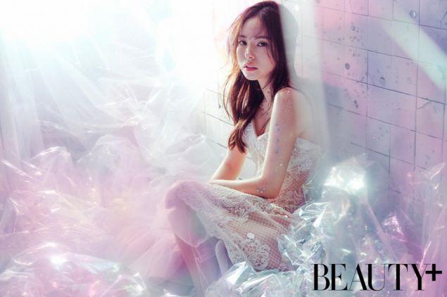 Min Hyo Rin is a sparkling princess for 'Beauty+' | allkpop.com