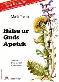 Med Marias egna ord: Jag vill gärna betona, att jag verkligen bemödat mig att ta med samtliga mina erfarenheter i den här boken, så att den kan vara till största nytta för alla läsare. Vi är nu inne i en tid då de flesta människor kommit ifrån det naturliga sättet att leva, när sjukdomar hotar, som orsakats av förändrat levnadssätt och dålig miljö, då vi gärna vill återvända till naturens medicinalväxter som funnits i alla tider. Som Abbé Kneipp, den välkände örtkännaren säger: Det finns en…