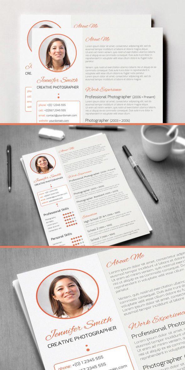 Creative Curriculum Vitae by CodeGrape, via Behance