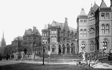 Old photo of Infirmary 1894, Leeds. Still looks like this today.