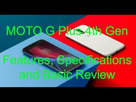 [2016]Moto G4 Plus 2016 features & Review - Quotes World