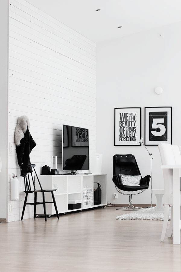 noir et blanc | @andwhatelse #black&white #interiordesign