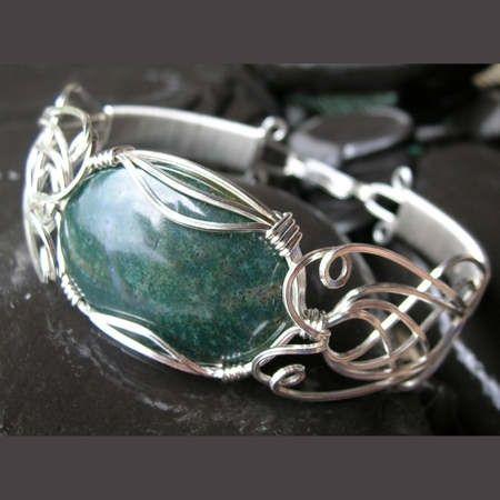 Free Wire Jewelry Tutorial | Dianne Karg Baron / WRAPTURE wire jewellery / WRAPTURE wire jewelry