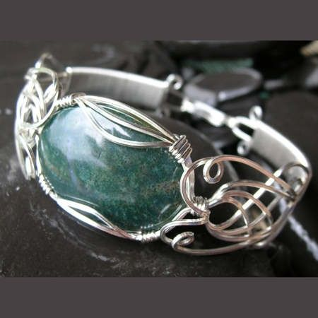 Free Wire Jewelry Tutorial | Dianne Karg Baron / WRAPTURE wire jewellery / WRAPTURE wire jewelry