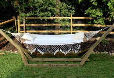 How to Make a Free-Standing Hammock Stand