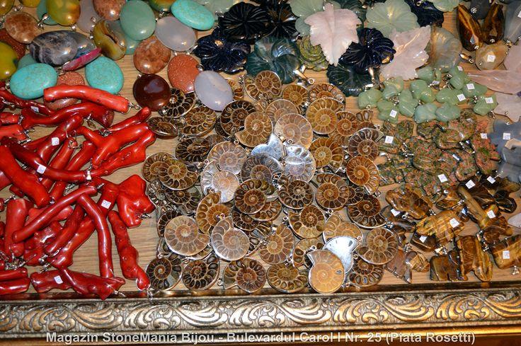 StoneMania Bijou - Magazin bijuterii cristale naturale si pietre semipretioase in Bucuresti. Adresa: Bulevardul Carol I Nr. 25 (Piata Rosetti)