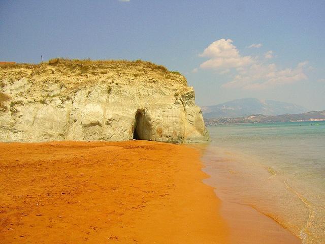 Xi beach , Kefalonia, Greece