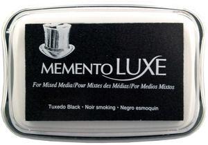 Memento Luxe TUXEDO BLACK Ink Pad Tsukineko ML-900
