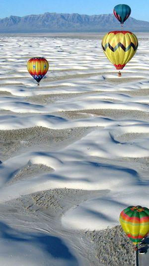 Balloon Fiestas - New Mexico Tourism - Hot Air Balloon Festivals - New Mexico Tourism - Travel & Vacation Guide