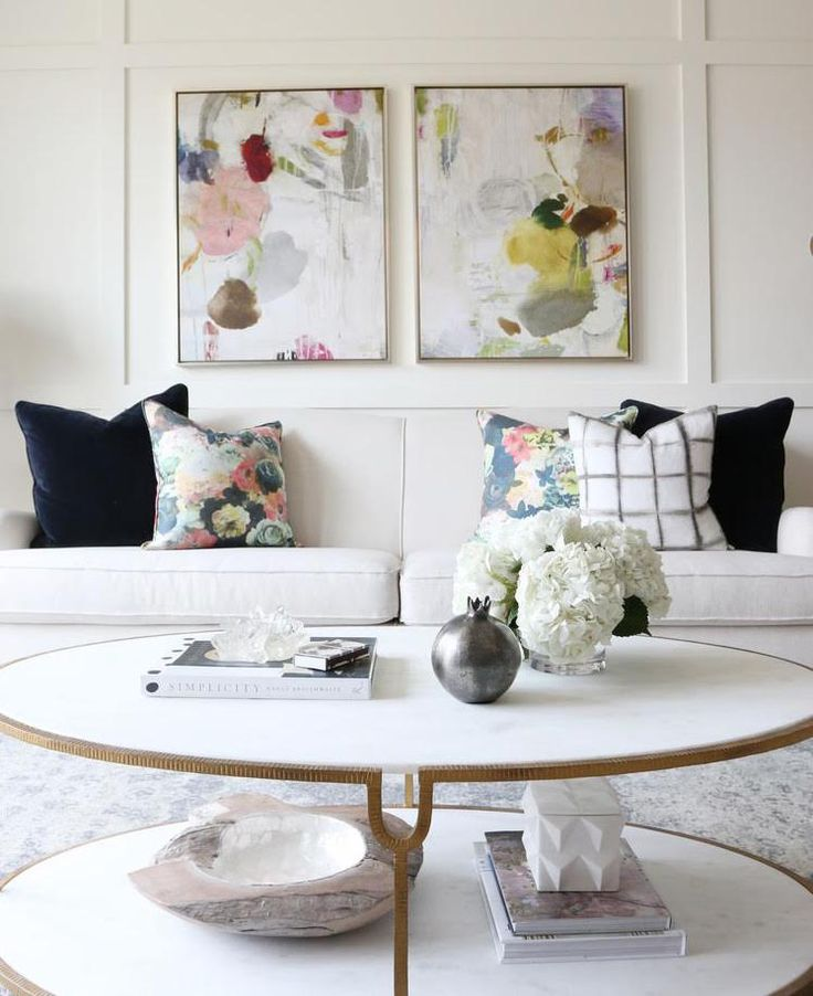 5 Ways To Incorporate Florals Into Your Decor. Living Room ImagesArtwork ... Part 43