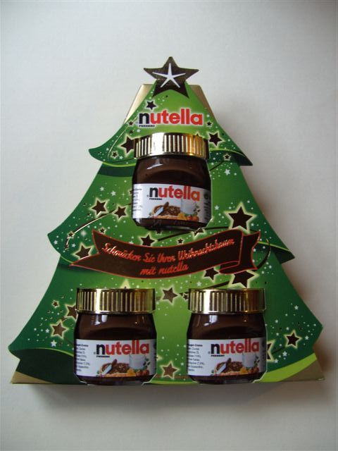Festive Nutella from Germany