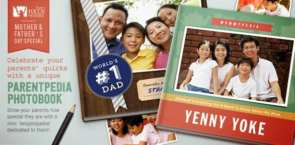 Though you don't always understand them, you know for a fact that they're only doing what they know is the best for you, why don't you thank them by creating a personalized Parentpedia photo book that will exhibit all those moments that meant so much for the whole family?  http://www.snaps.sg/