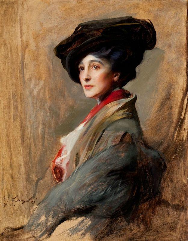 Philip de László (1869-1937), Portrait of Countess Beatty, née Ethel Field; other married name Mrs Arthur M. Tree, 1911. Chris Honeywell © de Laszlo Foundation