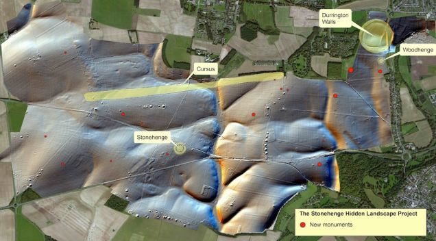 Archaeologists Have Made An Incredible Discovery At Stonehenge. Using powerful ground-penetrating radar, investigators have detected burial mounds, chapels, shrines, pits — and most remarkable of all — a massive megalithic monument made up of more than 50 giant stones buried along a 1,082-foot-long c-shaped enclosure. This changes virtually everything we thought we knew about Stonehenge. The news comes just a week after finding out that Stonehenge was once a complete circle . Sept. 10, 2014
