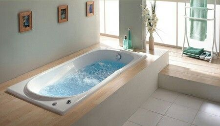 ●Bath - Make sure that it is possible to reach bath fillers (water taps) from outside of the bath. Pay attention to height & depth of the bathtub – it should be easy and safe to get in and out of it. Consider placing grab bars in the bathtub.  Think about physiological characteristics: for example, for a person with obesity a bathtub should be wider than standard size  or if the person is very tall, this should be considered when fixing the shower head and choosing the length of a bathtub.