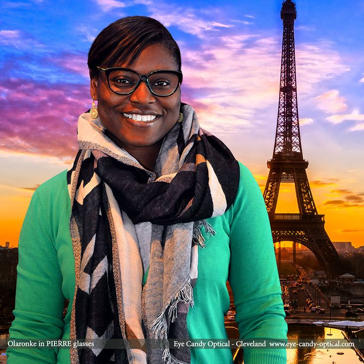 Olaronke looks great in Paris wearing her new French designer glasses by Pierre. Eye Candy - Come visit us and fall in love with the finest European Eyewear Fashion! Eye Candy Optical Cleveland - The Best Glasses Store! (440) 250-9191 - Book an Eye Exam Online or Over the Phone www.eye-candy-optical.com www.eye-candy-optical.com/Contact/sign_up - Join our mailing list