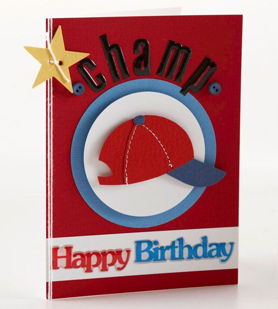 Sports Fan Birthday Card