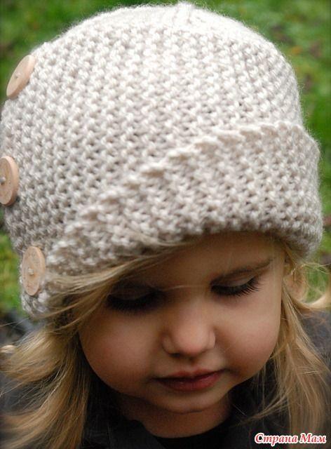 Стильные шапочки на осень мамочке и дочке (делюсь описанием). - Вязание - Страна Мам