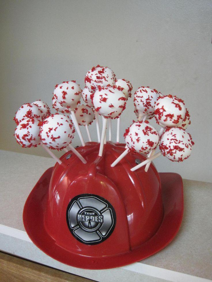 firefighter wedding shower | Cakes Cupcakes Wedding...