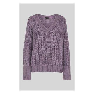 39a8099d9d8 V Neck Rib Chunky Sweater | + L U S T ♥ L I S T
