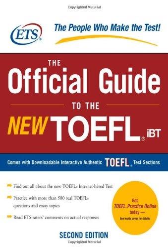 Top Toefl Exam preparation books