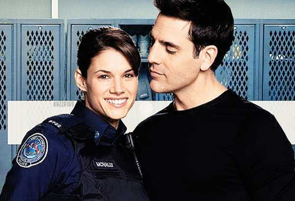 Missy Peregrym And Ben Bass Rock At The Premiere Of Rookie Blue Season 6