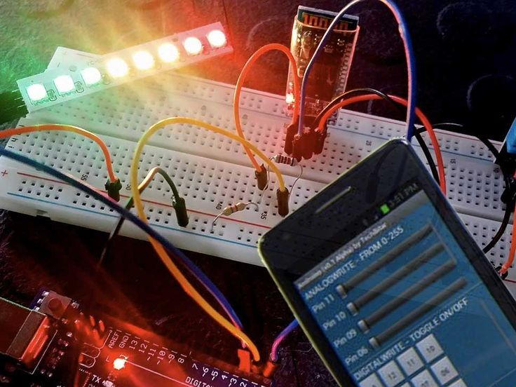 Use Bluetooth to control your next Arduino project! In this tutorial we will use the HC-06 bluetooth module to connect it to our Android device.