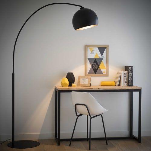 Superb Stehlampe BLACK SPHERE aus Metall H cm schwarz hier alle Lampen und Leuchten von Maisons du Monde ansehen und gleich bestellen