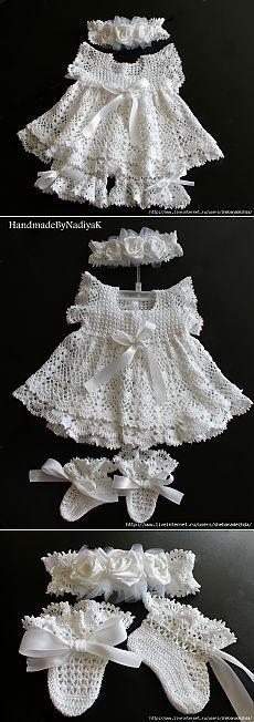 & Quot; Baby Angel & quot; Festive attire for girls. 0-6 months ..