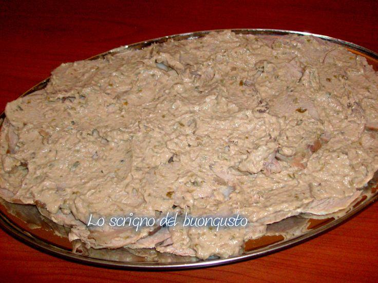 VITELLO TONNATO CLICCA QUI PER LA RICETTA http://loscrignodelbuongusto.altervista.org/vitello-tonnato/