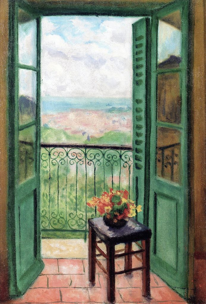 Albert Marquet - Window Overlooking the Bay of Algiers