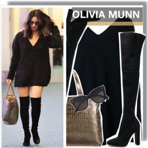 Olivia Munn in LAX Airport