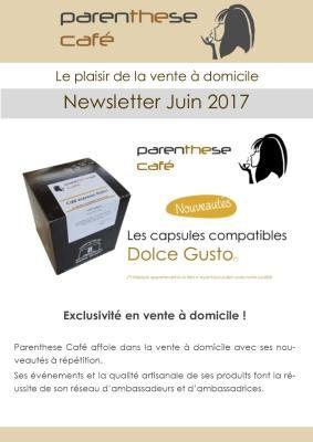 Newsletters Parenthese Café