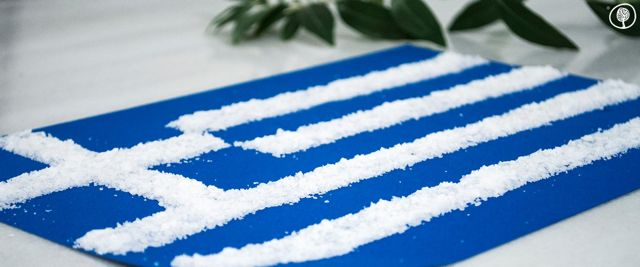 """If you deconstruct Greece, you will be left with an olive, a vine and a boat.  Which means: with as much you can reconstruct it!""  Odysseas Elytis  #greekindependenceday #welovegreece #yolenistaste #greekflag"